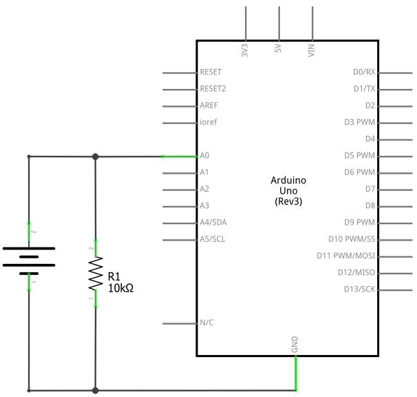 spannungsmessung mit dem arduino. Black Bedroom Furniture Sets. Home Design Ideas